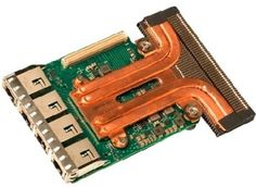 Адаптер Dell 540-BBVC Quadr Port Intel X550 10GbE Base-T rNDC for 14G