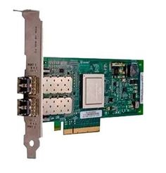 Контроллер Dell QLogic 2562 Dual Port 8Gb/s FC PCIe low profile Kit (406-10471/C05FD-1)