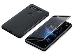Аксессуар Чехол для Sony Xperia XZ2 Compact Black SCTH50