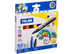 Фломастеры Milan Maxi Magic 643 8 цветов + 2 волшебных 80023 / 223129