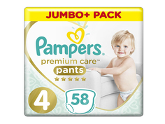 Подгузники Pampers Premium Care Pants Maxi 9-15кг 58шт 8001090759993