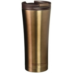 Термокружка asobu manhattan coffee tumbler 0.5 л, коричневая v700 brown