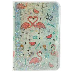 Блокнот FUN GLITTER Flamingo 10x15 см
