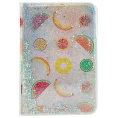 Блокнот FUN GLITTER Fruits 10x15 см