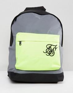 Рюкзак со светоотражающей отделкой SikSilk - Серый