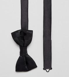 Атласный галстук-бабочка Heart & Dagger - Черный