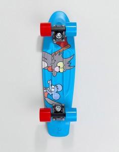Скейтборд The Simpsons x Penny itchy & scratchy - Синий