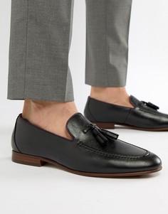 ALDO Wyanet tassel loafers in black - Черный