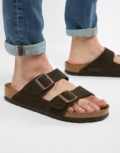 Birkenstock Arizona sandals in mocha suede - Коричневый
