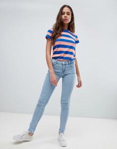 Levis Line 8 mid rise skinny jeans - Синий