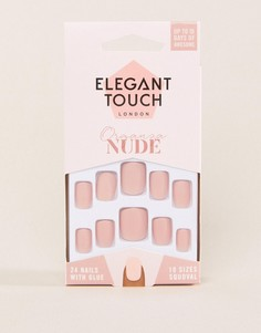Накладные ногти Elegant Touch Nude Collection - Organza Matte - Розовый