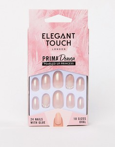 Накладные ногти Elegant Touch Prima Donna Collection Pearled Up Princess - Бежевый