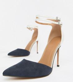 Туфли на каблуке с острым носом ASOS DESIGN Primrose - Мульти