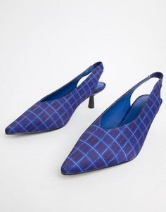 Туфли на каблуке-рюмочке NA-KD - Синий