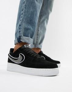 Черные кроссовки Nike Air Force 1 07 823511-014 - Черный