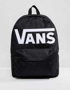 Черный рюкзак с логотипом Vans Old Skool - Черный