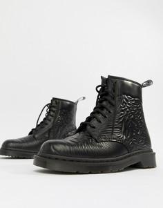 Ботинки Dr Martens x Joy Division 1460 - Черный