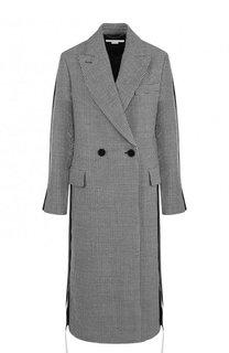 Двубортное шерстяное пальто прямого кроя Stella McCartney