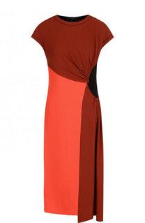 Платье-миди асимметричного кроя Dries Van Noten