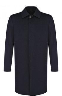 Кашемировое пальто на пуговицах Brioni