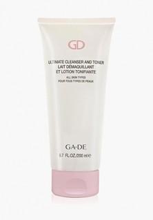 Средство для снятия макияжа Ga-De очищающее и тонизирующее ULTIMATE CLEANSER AND TONER (для всех типов кожи)