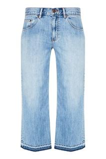 Голубые широкие джинсы Marc Jacobs