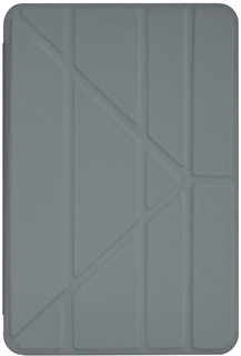 Чехол-книжка Pipetto Origami для Apple iPad Mini 4 (серый)