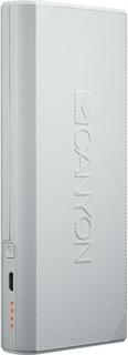Внешний аккумулятор Canyon 10000mAh 2xUSB CNE-CPBF100W (белый)