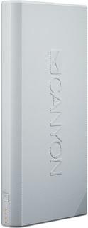 Внешний аккумулятор Canyon 16000mAh 2xUSB CNE-CPBF160W (белый)