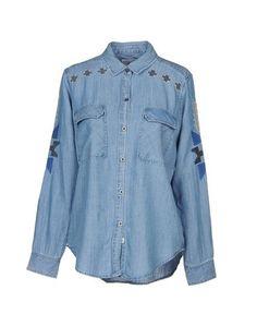 Джинсовая рубашка Rails