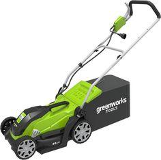 Газонокосилка роторная GREENWORKS GLM1035 [2505107]