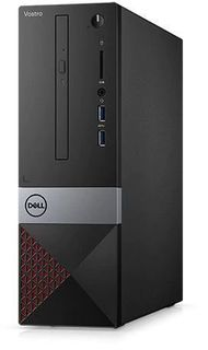 Компьютер DELL Vostro 3470, Intel Core i3 8100, DDR4 4Гб, 1000Гб, Intel UHD Graphics 630, DVD-RW, CR, Windows 10 Home, черный [3470-0915]