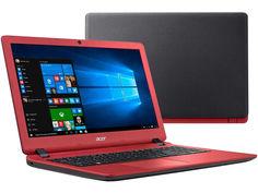 Ноутбук Acer Aspire ES1-523-86DK NX.GL0ER.002 Black-Red (AMD A8-7410 2.2 GHz/8192Mb/1000Gb/AMD Radeon R5/Wi-Fi/Cam/15.6/1366x768/Windows 10 64-bit)