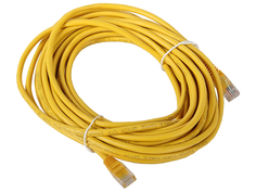 Сетевой кабель AOpen UTP cat.5e ANP511 10m Yellow ANP511_10M_Y
