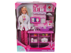 Кукла Simba Штеффи - Ветеринар 84270 / 5737393