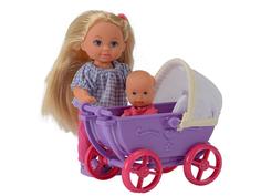 Кукла Simba Еви с малышом на прогулке 69540 / 5736241