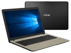 Ноутбук ASUS A540NV-DM049T Black-Golden 90NB0HM1-M00880 (Intel Pentium N4200 1.1 GHz/4096Mb/500Gb/nVidia GeForce 920MX 2048Mb/Wi-Fi/Bluetooth/Cam/15.6/1920x1080/Windows 10 64-bit)