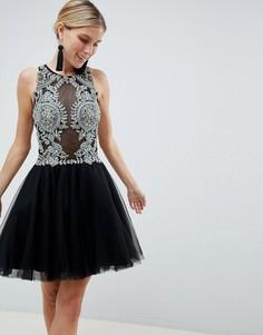 Платье мини для выпускного Jovani - Черный