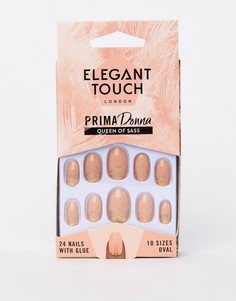 Накладные ногти Elegant Touch Prima Donna Collection Queen of $ass - Мульти