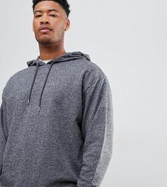 Оversize-худи темно-серого цвета ASOS DESIGN tall - Серый