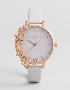 Часы с кожаным ремешком Olivia Burton OB16CB06 - Розовый