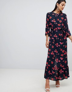 Selected Femme Printed Maxi Dress - Мульти