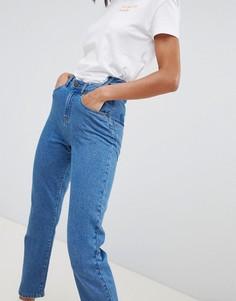 Джинсы в винтажном стиле с боковыми карманами Noisy May - Синий