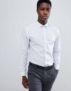 Jack & Jones Slim Fit Long Sleeve Shirt - Белый