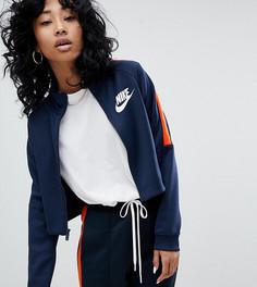 Сине-оранжевая спортивная куртка Nike N98 - Синий