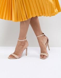 Босоножки на каблуке ALDO Derolila - Бежевый