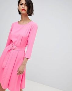Платье в стиле 60-х с поясом 2NDDAY - Розовый