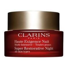 CLARINS Восстанавливающий ночной крем интенсивного действия для любого типа кожи Multi-Intensive 50 мл