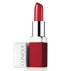 CLINIQUE Помада для губ POP Lip Colour + Primer Plum Pop, 3.5 г