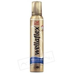 WELLA Пена для укладки волос объем до двух дней экстра-сильной фиксации Wellaflex 200 мл